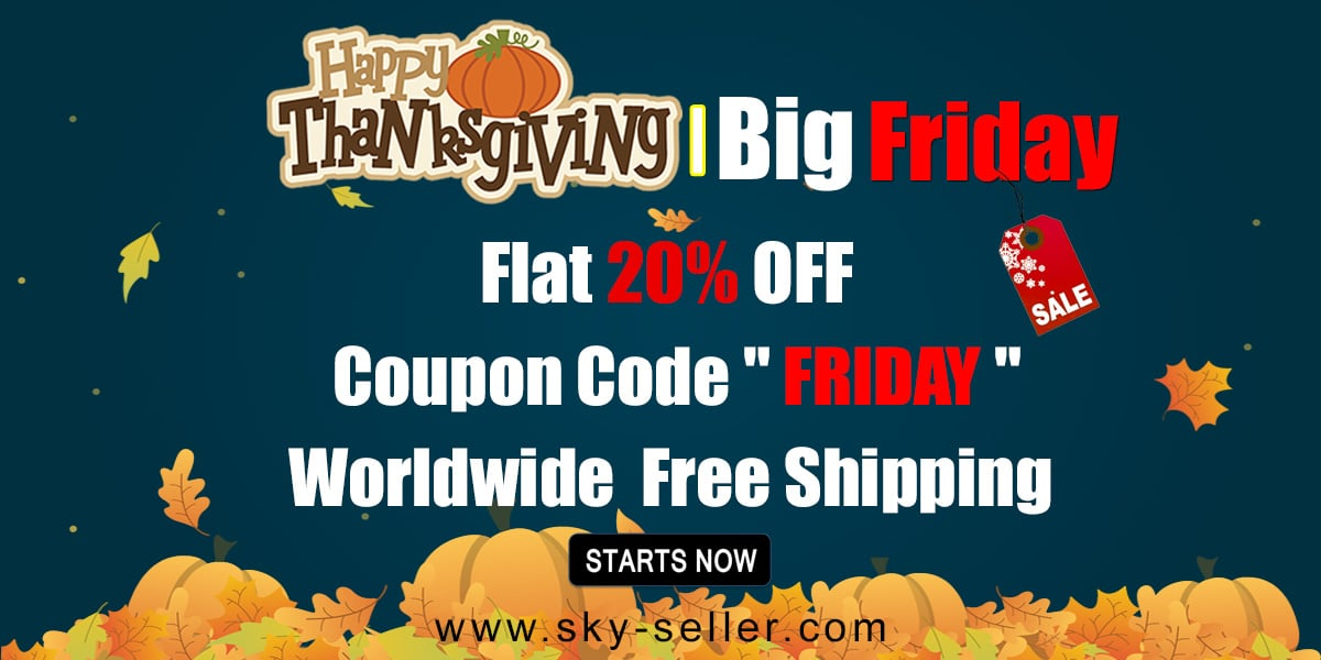 Thanksgiving Friday Sale