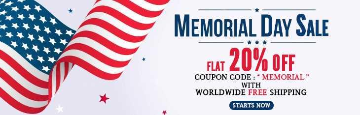 Memorial Day Discount
