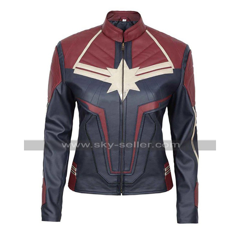 Brie_Larson_Captain_America_Blue_Leather_Jacket