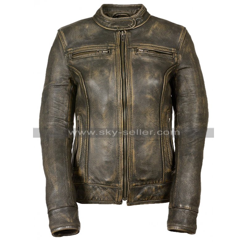 Womens_Triple_Stitch_Motorcycle_Leather_Jacket_Skyseller