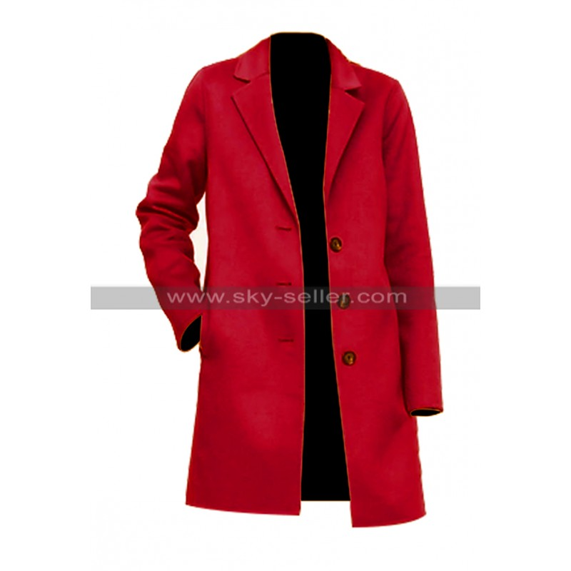 Torrey_DeVitto_Red_Wool_Coat_For_Christmas_Skyseller