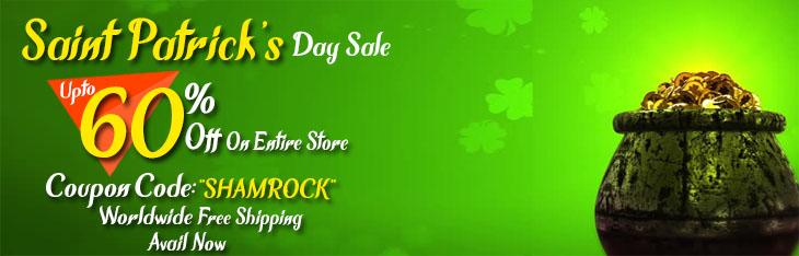 Saint Patrick's Day Sale