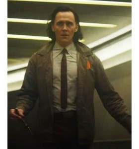 Tom Hiddleston Loki 2021 Jacket