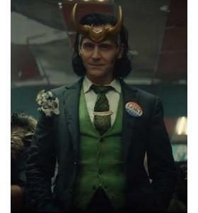 Tom Hiddleston Loki 2021 Blazer