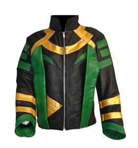 Thor Loki Leather Jacket
