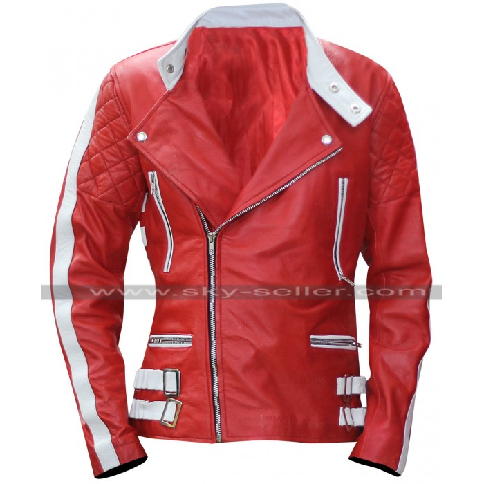Axl Rose Guns N Roses Womens Biker Leather Jacket