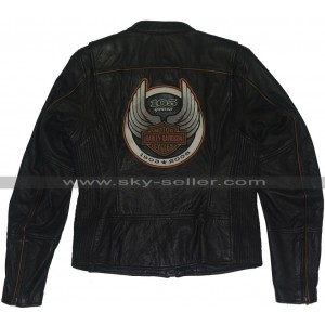 105th Years Harley Davidson Motorcycle Leather Jacket