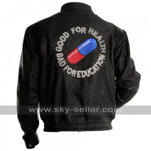 Akira Kaneda Capsule Black Pill Biker Leather Jacket