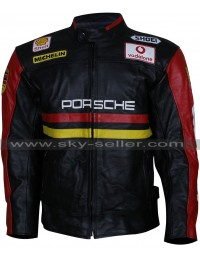 Men's Porsche 930 Turbo Motorcycle Leather Jacket