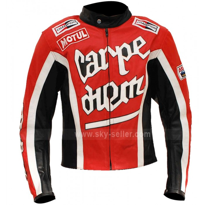 Crazy Horse Red Riding Carpe Diem Cary Ford Motorcycle Jacket