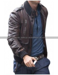 Cristiano Ronaldo Outfits Brown Jacket