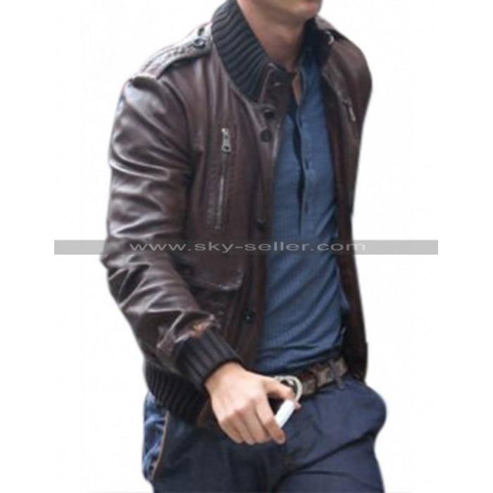 Cristiano Ronaldo Outfits Brown Jacket