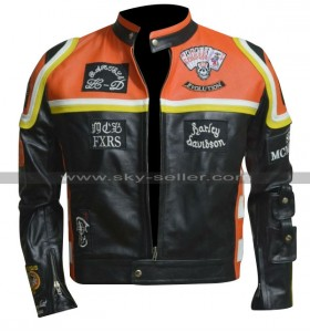 Marlboro Man Harley Davidson Motorcycle Leather Jacket