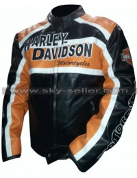 Harley Davidson Biker Vintage Leather Jacket