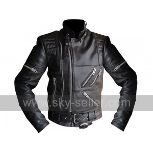Hein Gericke Live Eagle Riding Vintage Black Leather Jacket