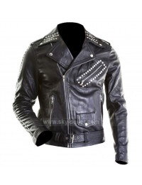 Justin Bieber All Around the World Black Motorcycle Jacket