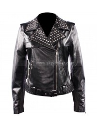 Domino Harvey Keira Knightley Domino Motorcycle Leather Jacket
