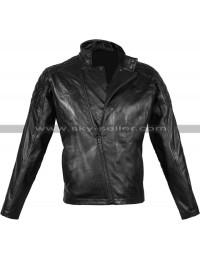 Metal Gear Solid V Snake Black Biker Jacket