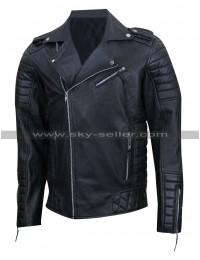Prestige Homme MR18 Kay Michael Quilted Biker Jacket