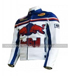 Red Bull Alpinestars Motorcycle Leather Jacket