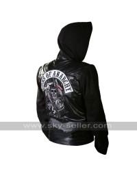Sons of Anarchy Hoodie Highway Zip Up Motorcycle Jacket