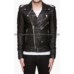 Thirty Seconds to Mars Guitarist Jared Leto Leather Jacket