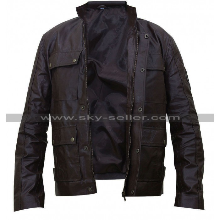 Triumph Lawford Biker Leather Jacket
