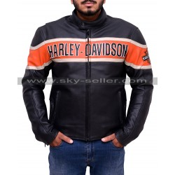 Men's Victory Harley Davidson Lane Leather Jacket