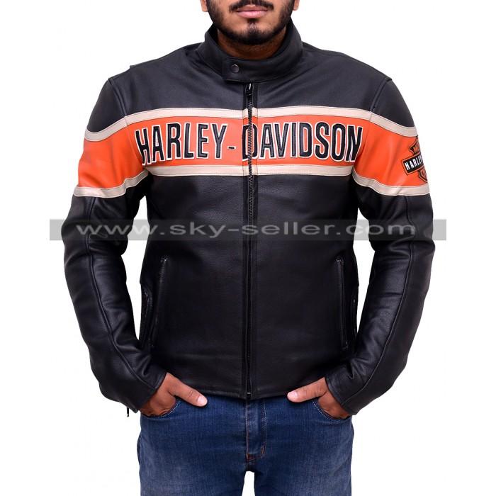 Men's Victory Harley Davidson Lane Leather Jacket