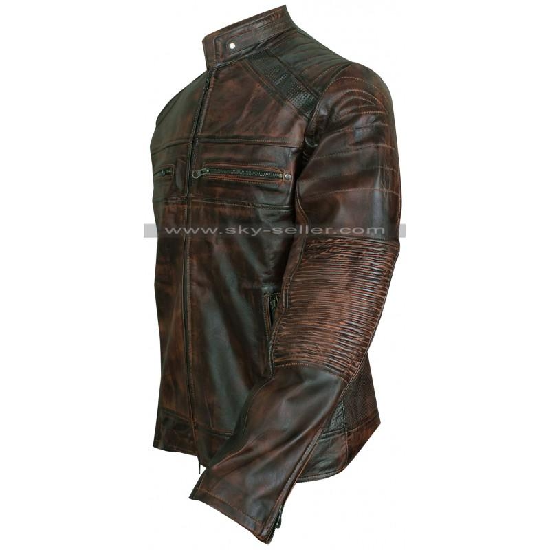 Mens Vintage Motorcycle Jacket 19