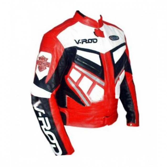 V Rod Men's Motorcycle Jacket