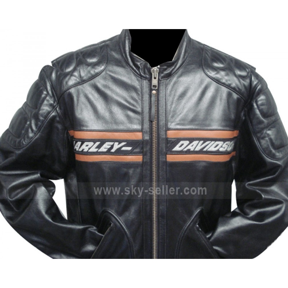 Harley Davidson Jacke mit Titten