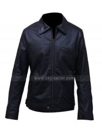 Need For Speed Aaron Paul Biker Leather Jacket