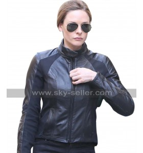 Mission Impossible 6 Fallout (Rebecca Ferguson) Ilsa Faust Biker Leather Jacket