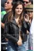 Emma Watson Bling Ring Nicki Black Motorcycle Jacket