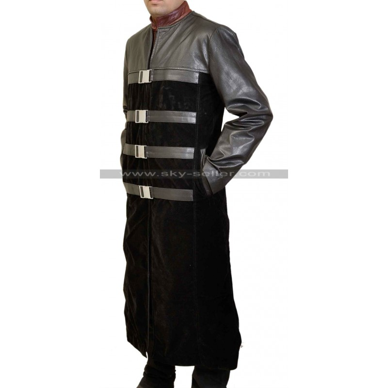 sc 1 st  Sky-Seller & Farscape Ben Browder Peacekeeper Trench Coat Costume