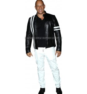 Fate of the Furious Vin Diesel Premiere Leather Jacket