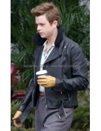 James Dean Life Dane Dehaan Fur Collar Jacket