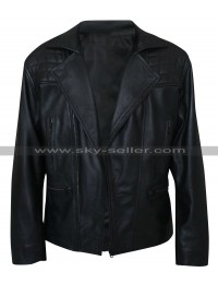 James Marsden D Train Oliver Lawless Biker Leather Jacket