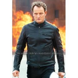 John Connor Terminator Genisys Jason Clarke Moto Jacket