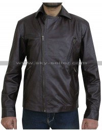 Matt Long Ghost Rider Young Johnny Blaze Biker Jacket