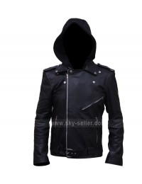 Milo Ventimiglia Gilmore Girls Hooded Biker Jacket