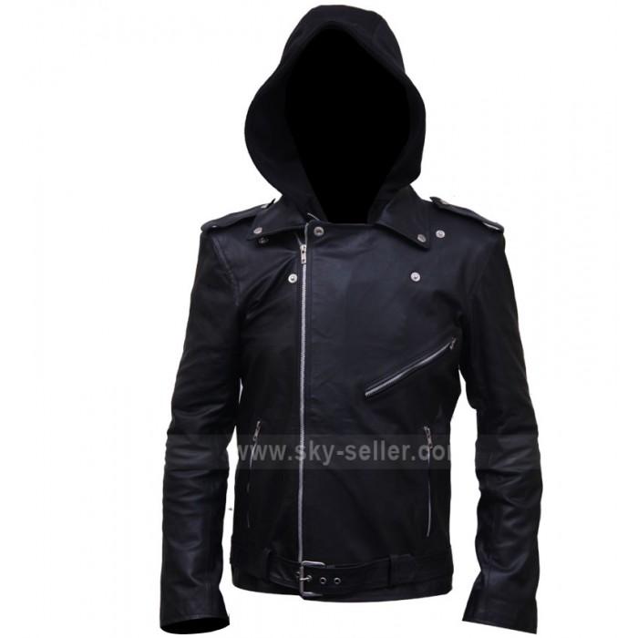 Milo Ventimiglia Gilmore Girls Hooded Biker Jacket