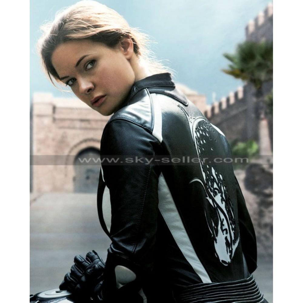 mission impossible 5 rebecca ferguson ilsa biker jacket. Black Bedroom Furniture Sets. Home Design Ideas
