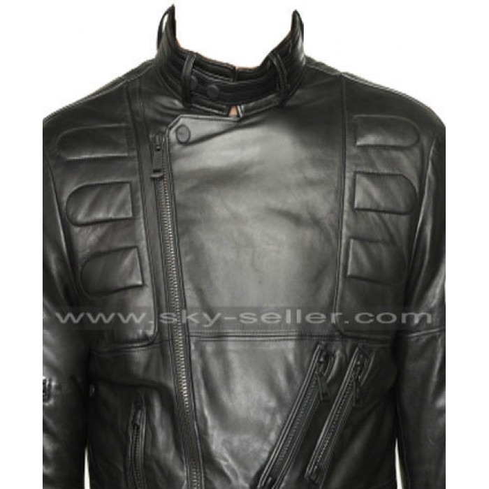 Sylvester Stallone Rocky 3 Biker Leather Jacket