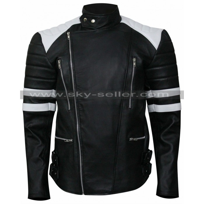 The Infiltrator Bryan Cranston Biker Leather Jacket