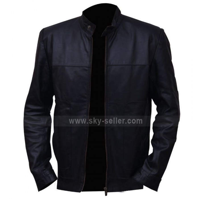 Tom Hardy This Means War (Tuck Henson) Black Moto Jacket