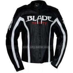 Blade (Wesley Snipes) Trinity Biker Leather Jacket