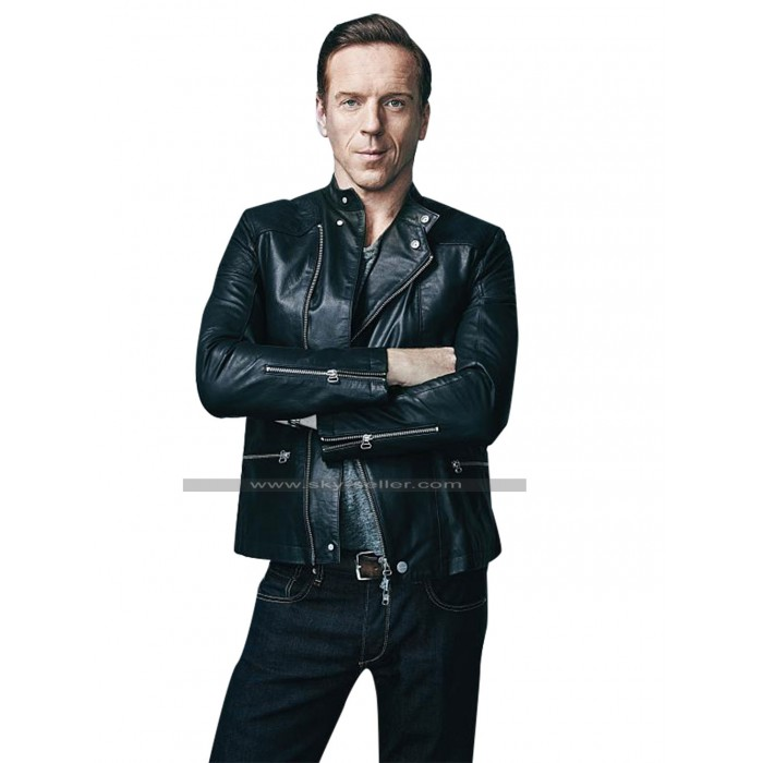 Billions Bobby Axelrod Rider Leather Jacket