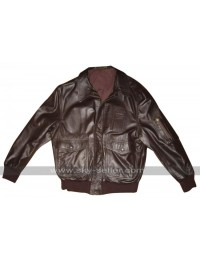Ellen Ripley Aliens Wested Bomber Leather Jacket